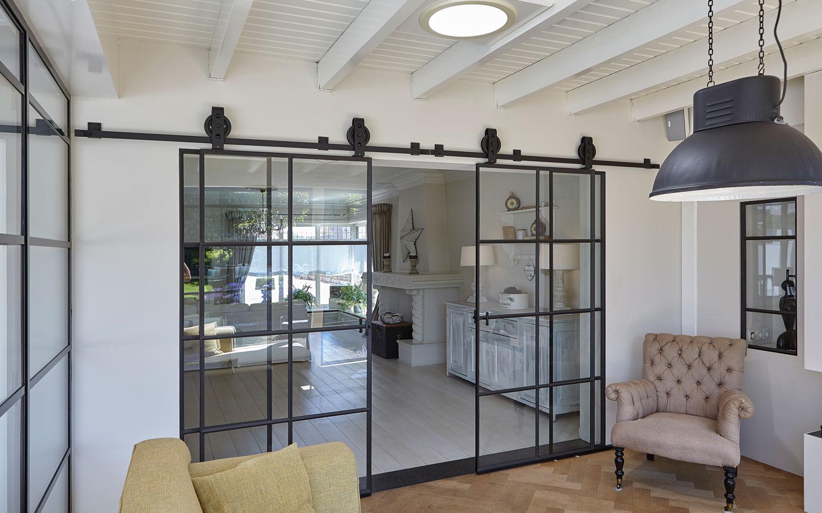 Een Stalen Deur : Kijkwoning stalen deuren huys the art of living nl