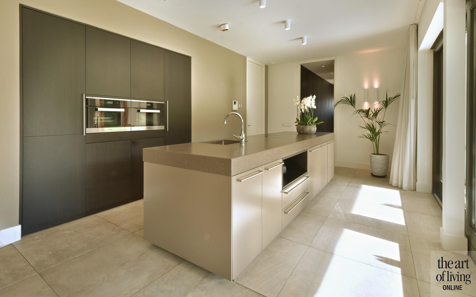 Strakke, functionele keuken