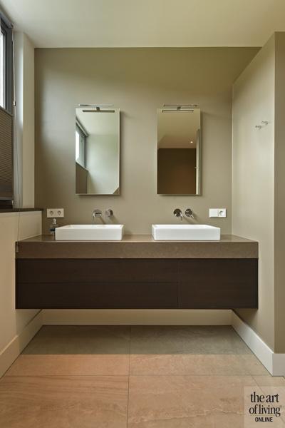 Badkamermeubels door interieurbouwer WKH-Wielens
