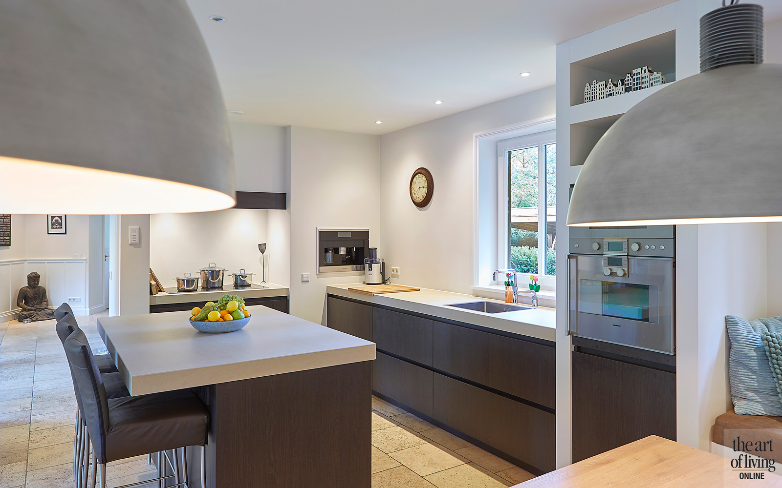 De woonkeuken van Van Diessen Keukens , keuken, renovatie, Margry Arts Architecten