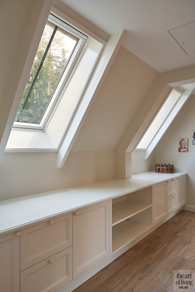 Interieurbouw Coenen Concept, Renovatie project Margry Arts Architecten, moderne inbouwkasten