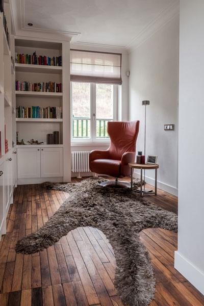 Van Oort Interieurs, eikenhout, parketvloer, maatwerk boekenkast, bibliotheek, Modern klassiek interieur, MarStyling