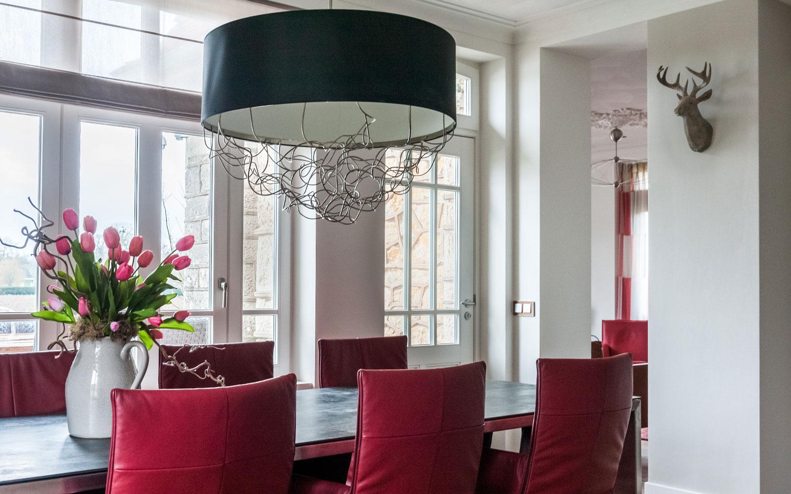 MarStyling, Keuken, Modern klassiek interieur, eettafel, stoelen, eetkamer