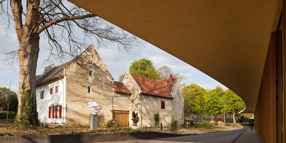 Mecanoo_St Gerlach Pavilion and manor farm Dennebos Flooring