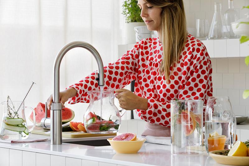 Quooker, kokendwaterkraan, luxe keuken