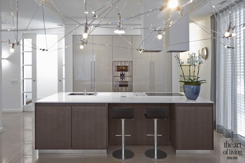 Keuken, kookeiland, Van Boven,