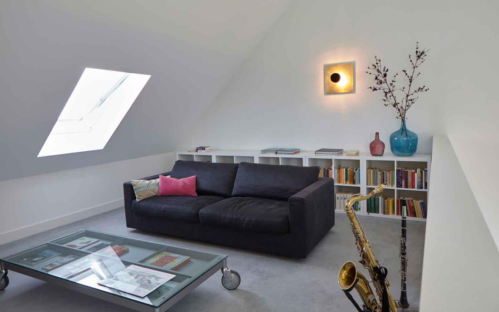 Relaxen, muziek maken, Landelijk, modern, Architectenbureau Koppens