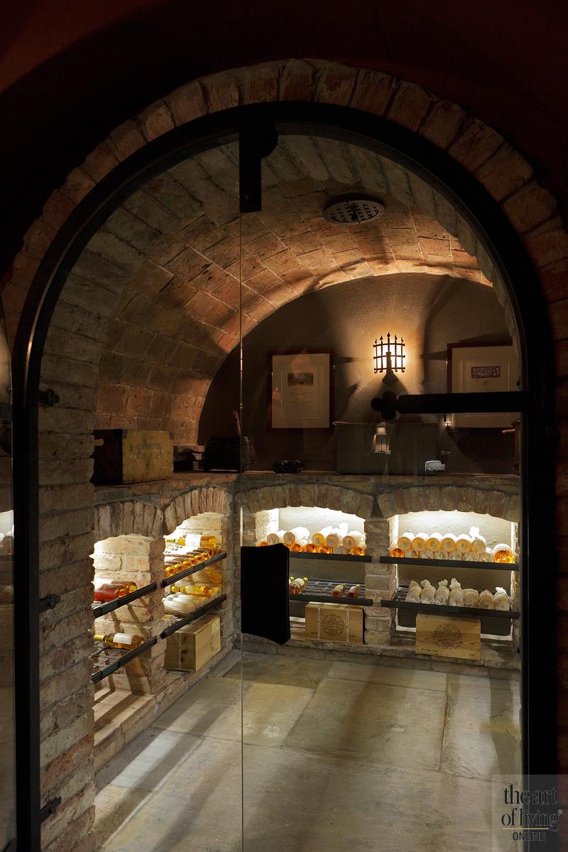 Wijnkelder, middeleeuwse catacombe