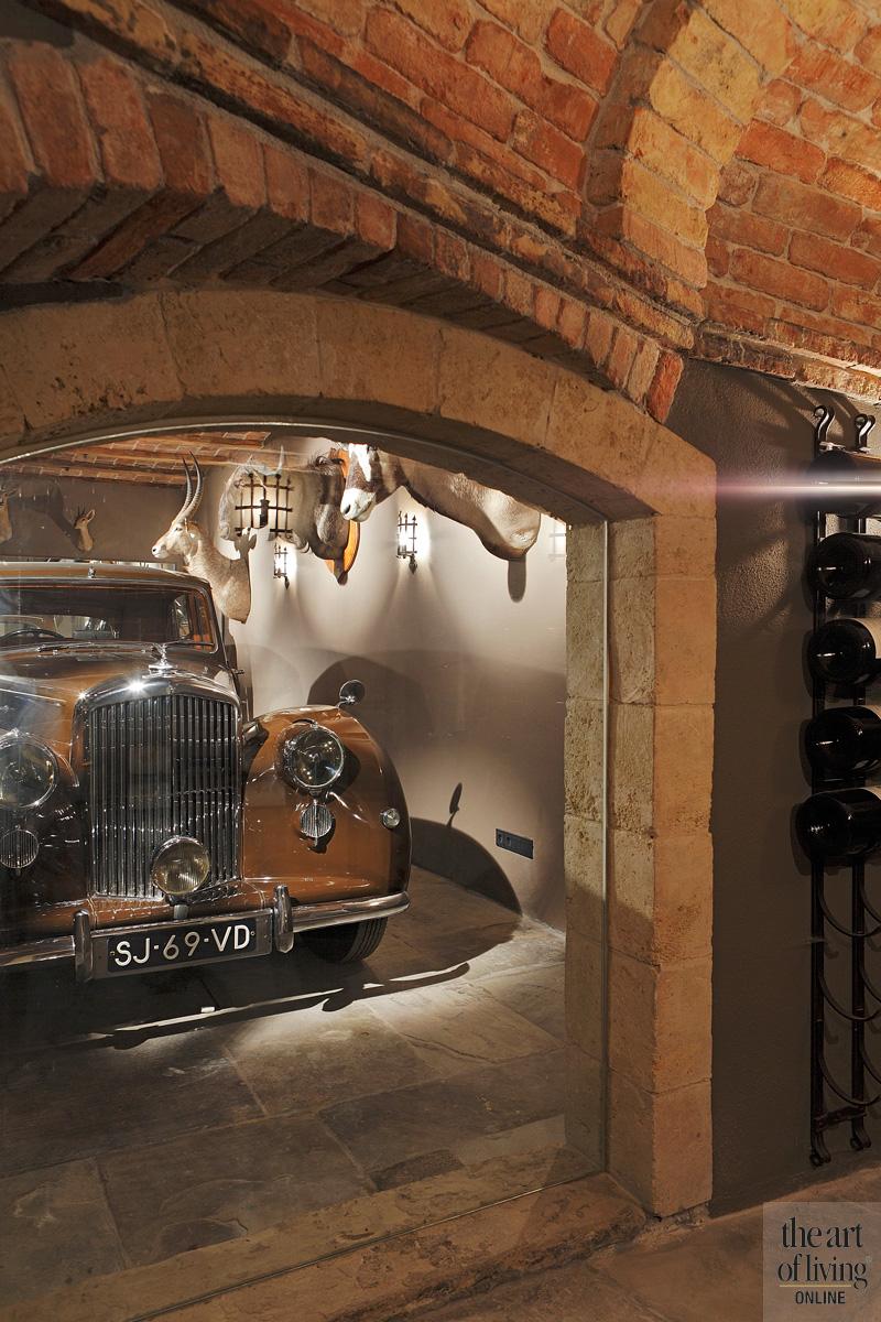 antieke Bentley uit 1949