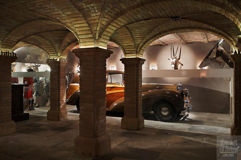 antieke Bentley uit 1949, kelder