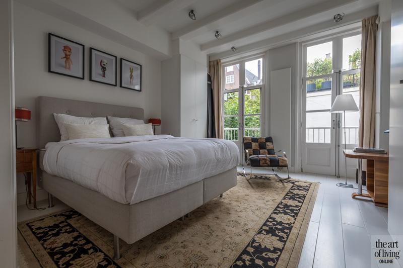 Slaapkamer, boxspring, bedroom