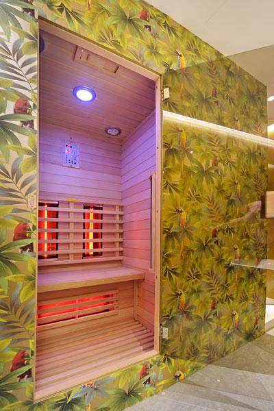 Gouden kamer, badkamer, sauna, La Marquise, Hertroijs Architekten