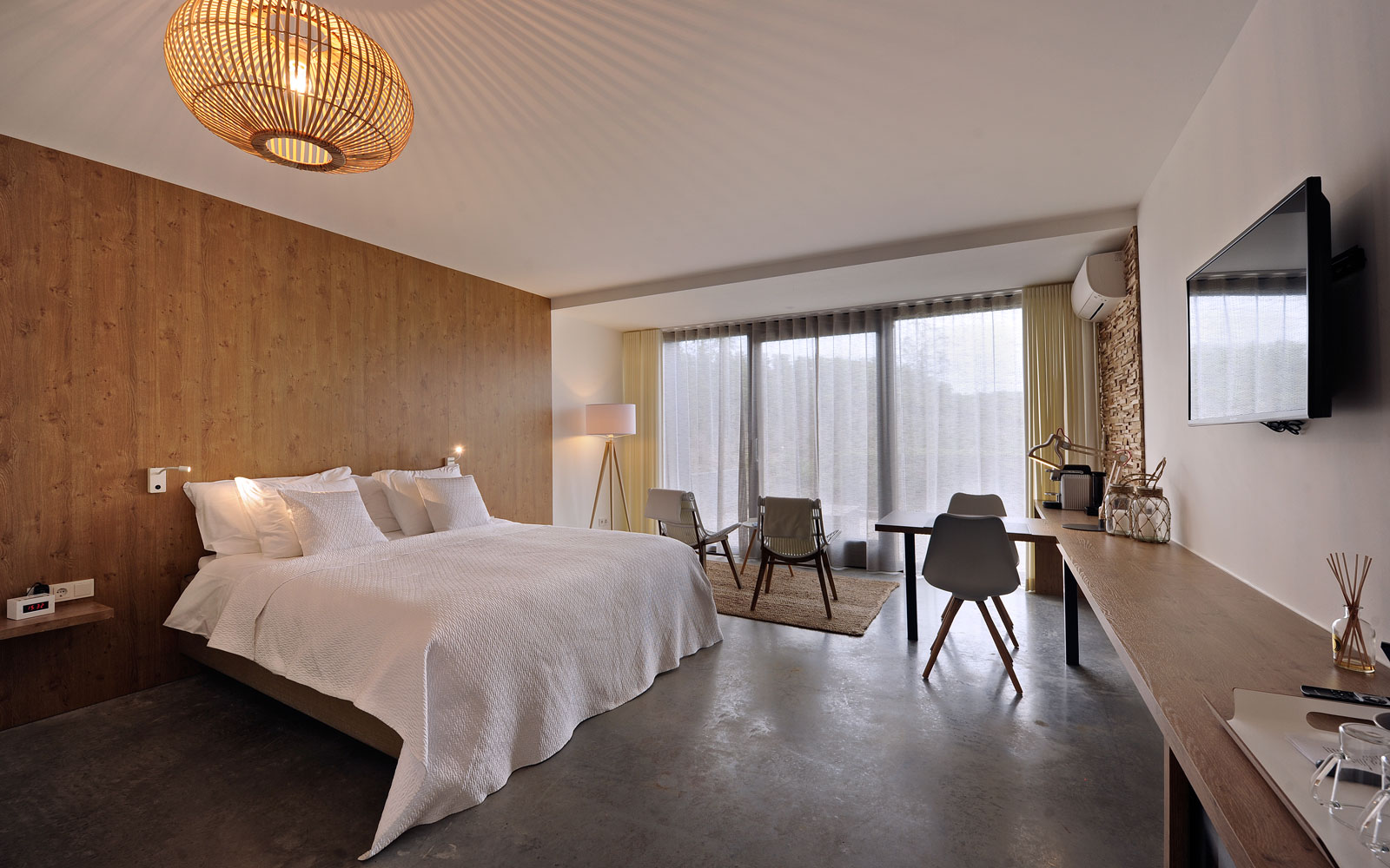 Natuurlijke kamer, slaapkamer, bed, Auping, La Marquise, Hertroijs Architekten