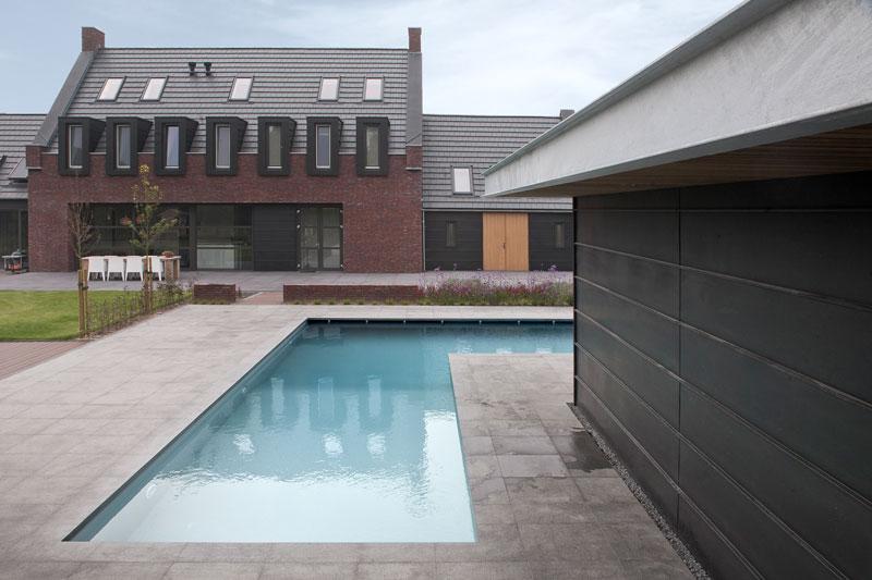 Zwembad, energiezuinig, Van Gemert, poolhouse, droomvilla, Marco Daverveld