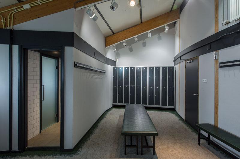 Kleedkamer, lockers, kluisjes, golfbaan, De Hooge Rotterdamsche, Versteegh Design