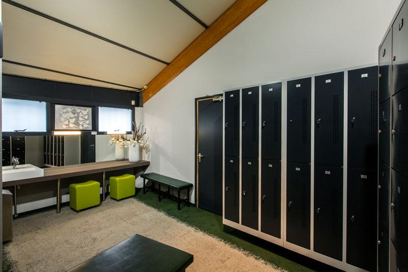 Kleedkamers, lockers, kluisjes, golfbaan, De Hooge Rotterdamsche, Versteegh Design