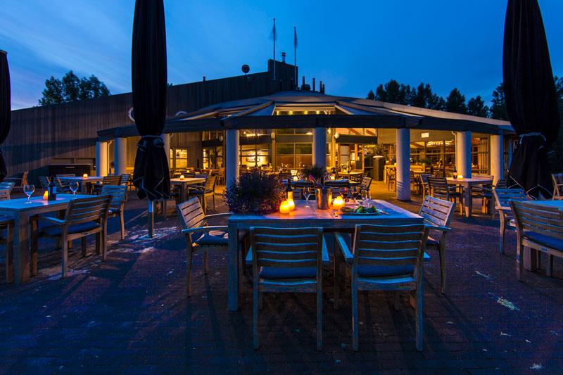 Terras, buiten, verwarmd, Golfbaan, De Hooge Rotterdamsche, Versteegh Design