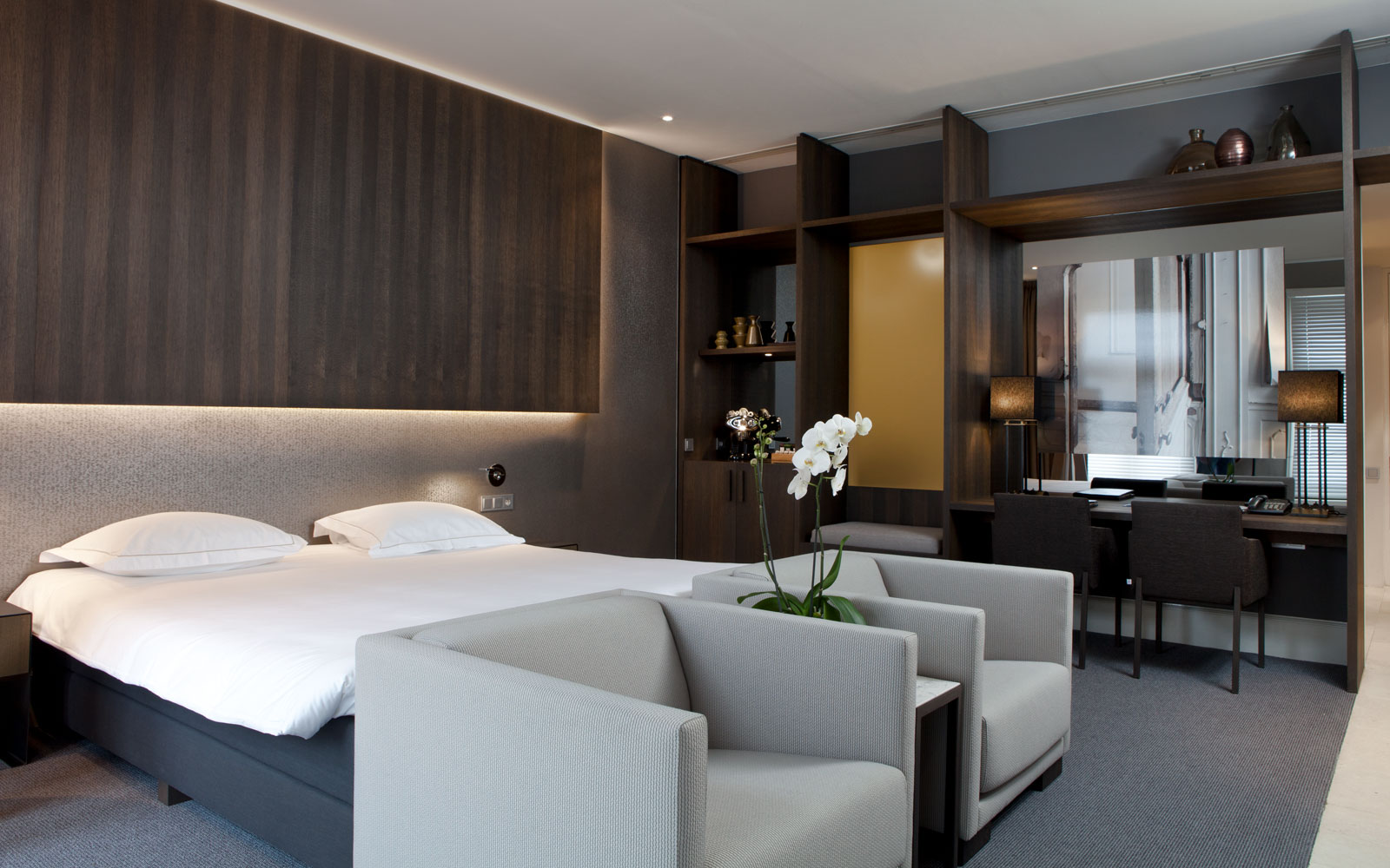 Hotelkamer, Nilson Beds, The Dylan Hotel Amsterdam | Remy Meijers