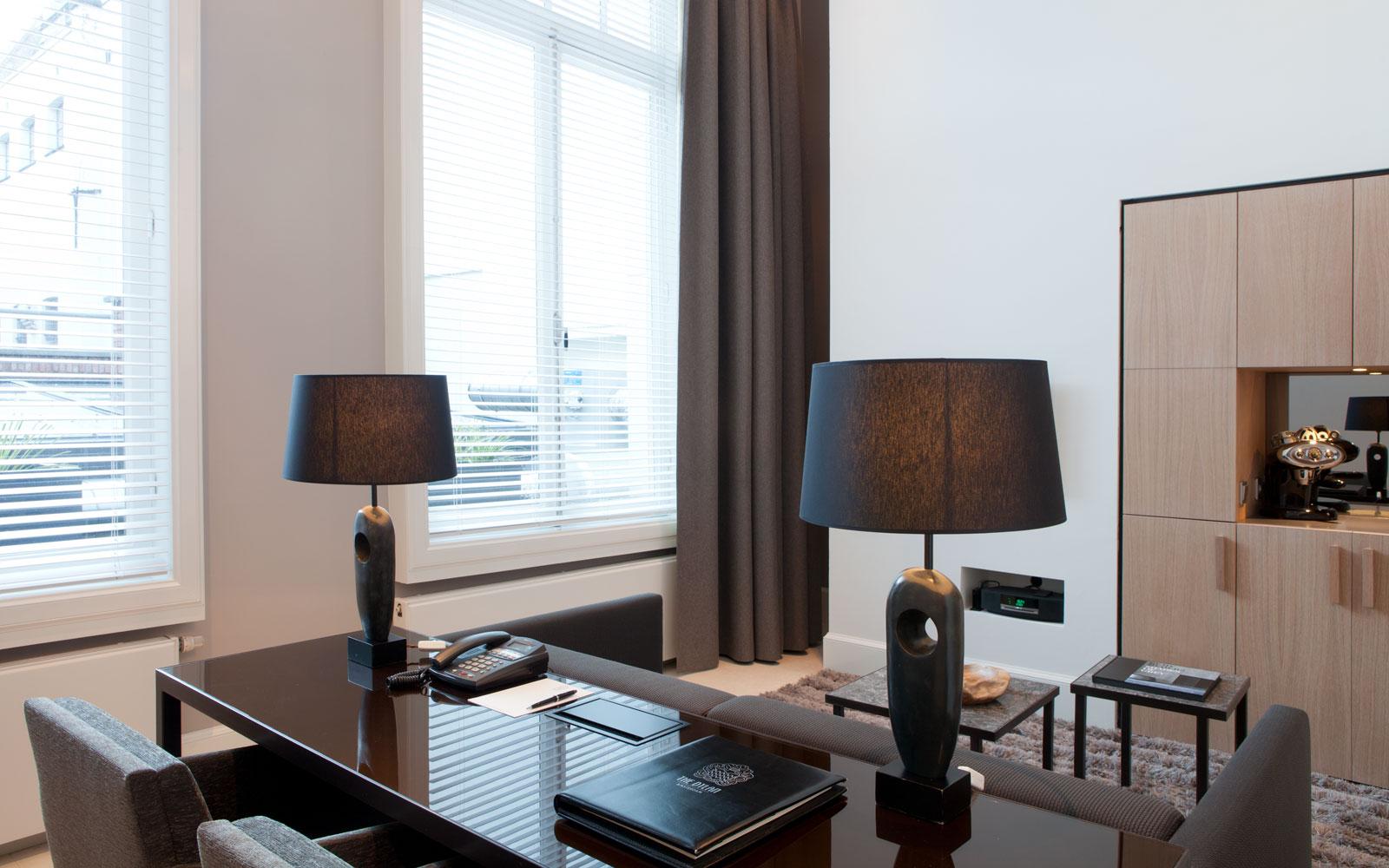 Bureau, kantoor, The Dylan Hotel Amsterdam | Remy Meijers
