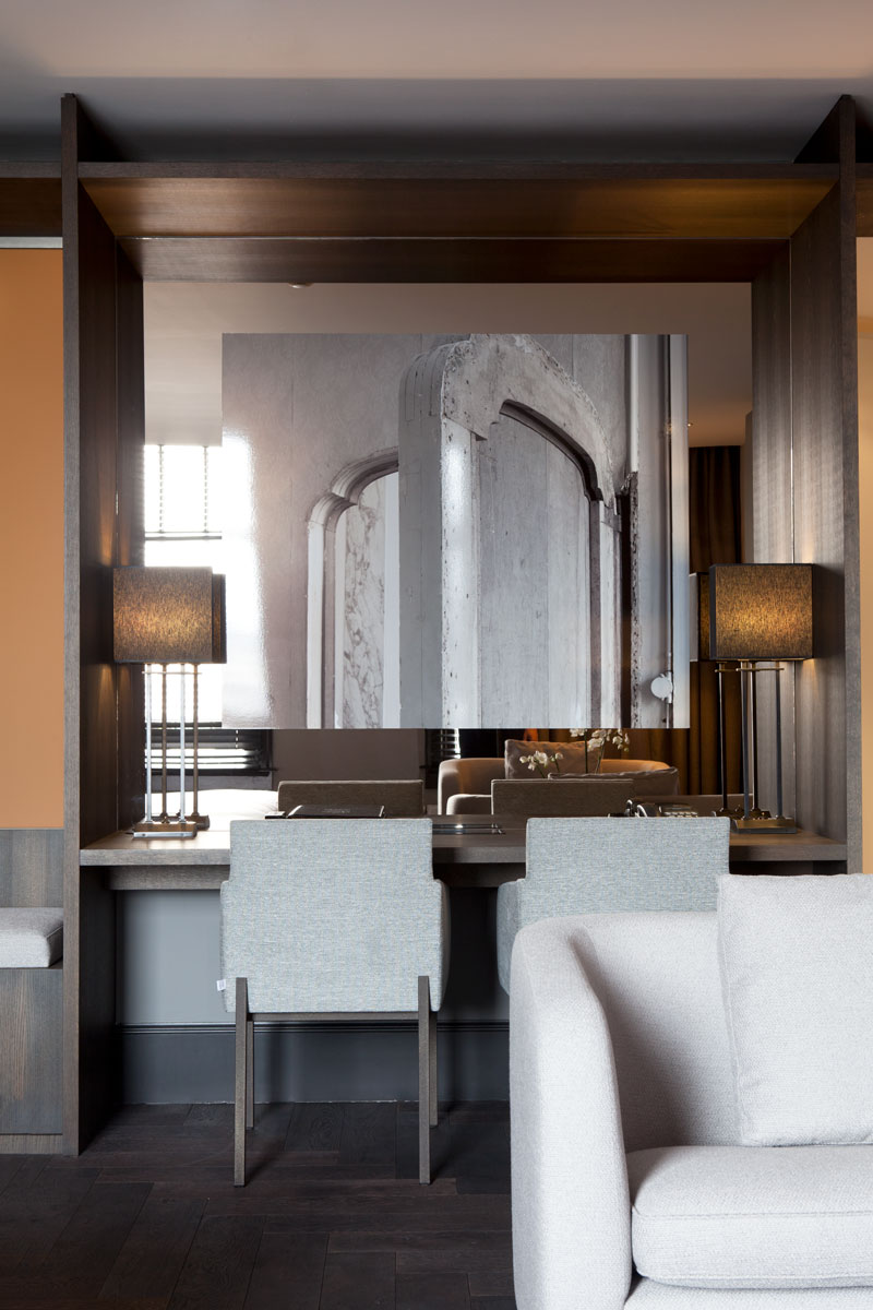 Hotelkamer, sfeervol, The Dylan Hotel Amsterdam | Remy Meijers