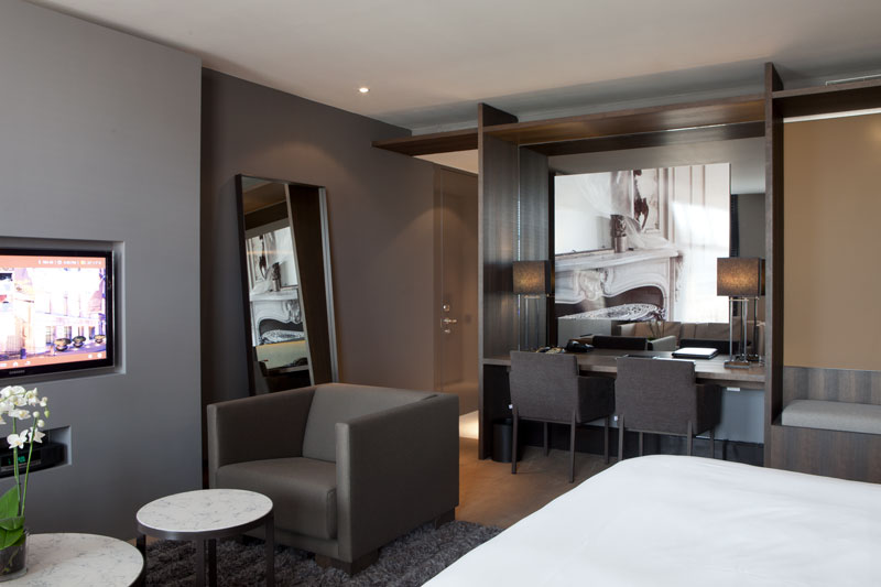 Hotelkamer, The Dylan Hotel Amsterdam | Remy Meijers