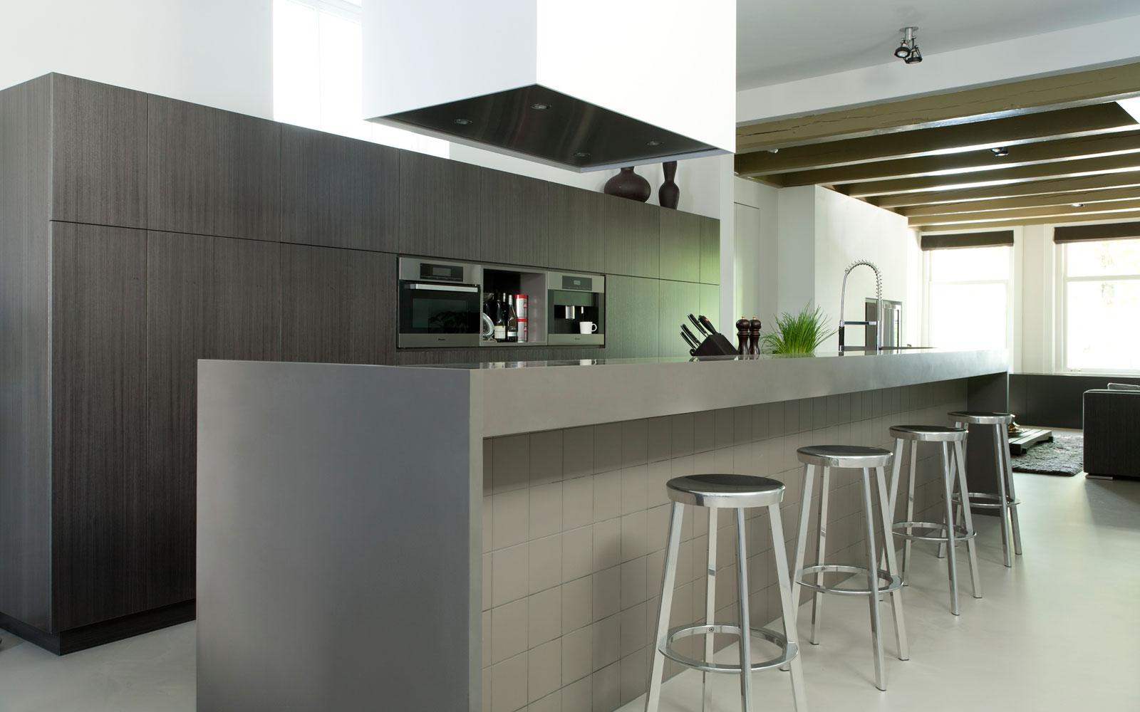 Woon- en werkplaats, keuken, | Remy Meijers