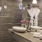 Swissotel Amsterdam, Villeroy & Boch Sanitair, luxe badkamers