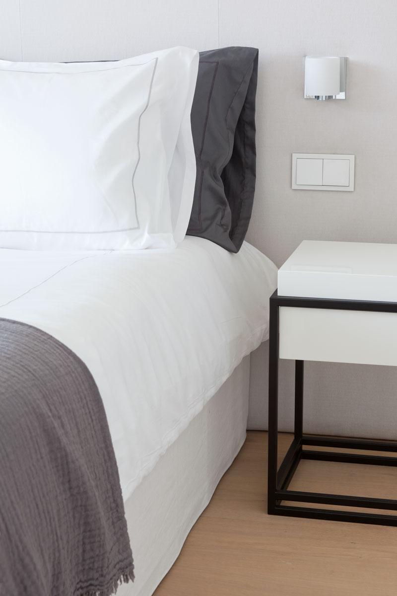 Slaapkamer, bed, Nilson Beds, stijlvol, master bedroom, Stadsvilla, Remy Meijers