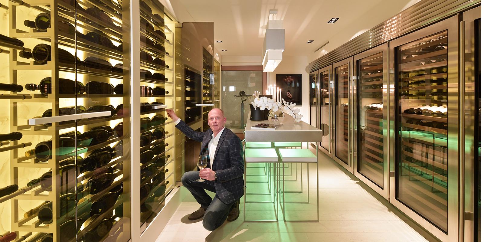 RMR Interieurbouw, Dom Perignon, Champagnekasten