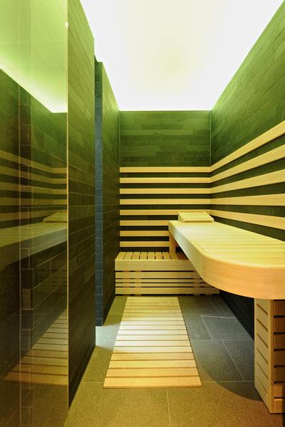 Sauna, badkamer, wellness, modern landhuis, Maas Architecten