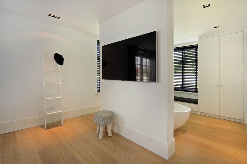 Scheidingswand Voor Slaapkamer : Witte droomvilla gerben van manen the art of living nl