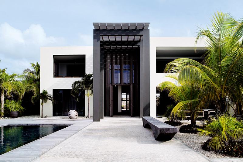 Moderne villa ontworpen door Piet Boon Studio