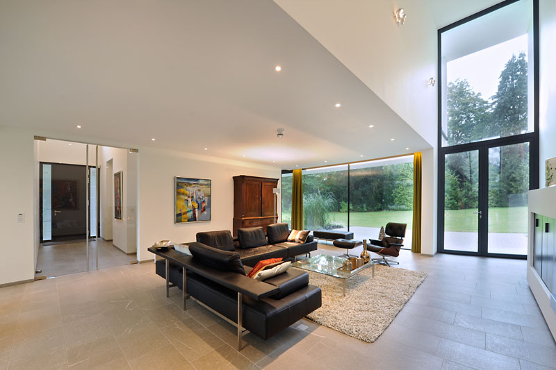 Woonkamer, meubilair, Smellink Wonen, ruimtelijk, modern landhuis, Maas Architecten