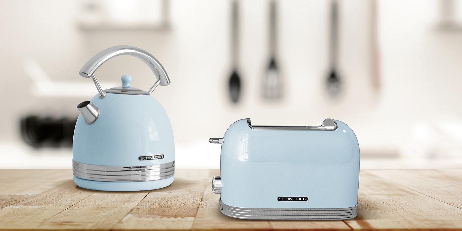 Schneider, retro keukenmachines, keukenapparatuur, koelkasten