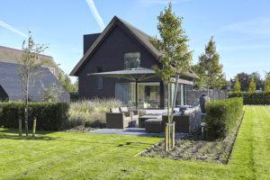 Exterieur, terras, tuin, villa, Bob Manders
