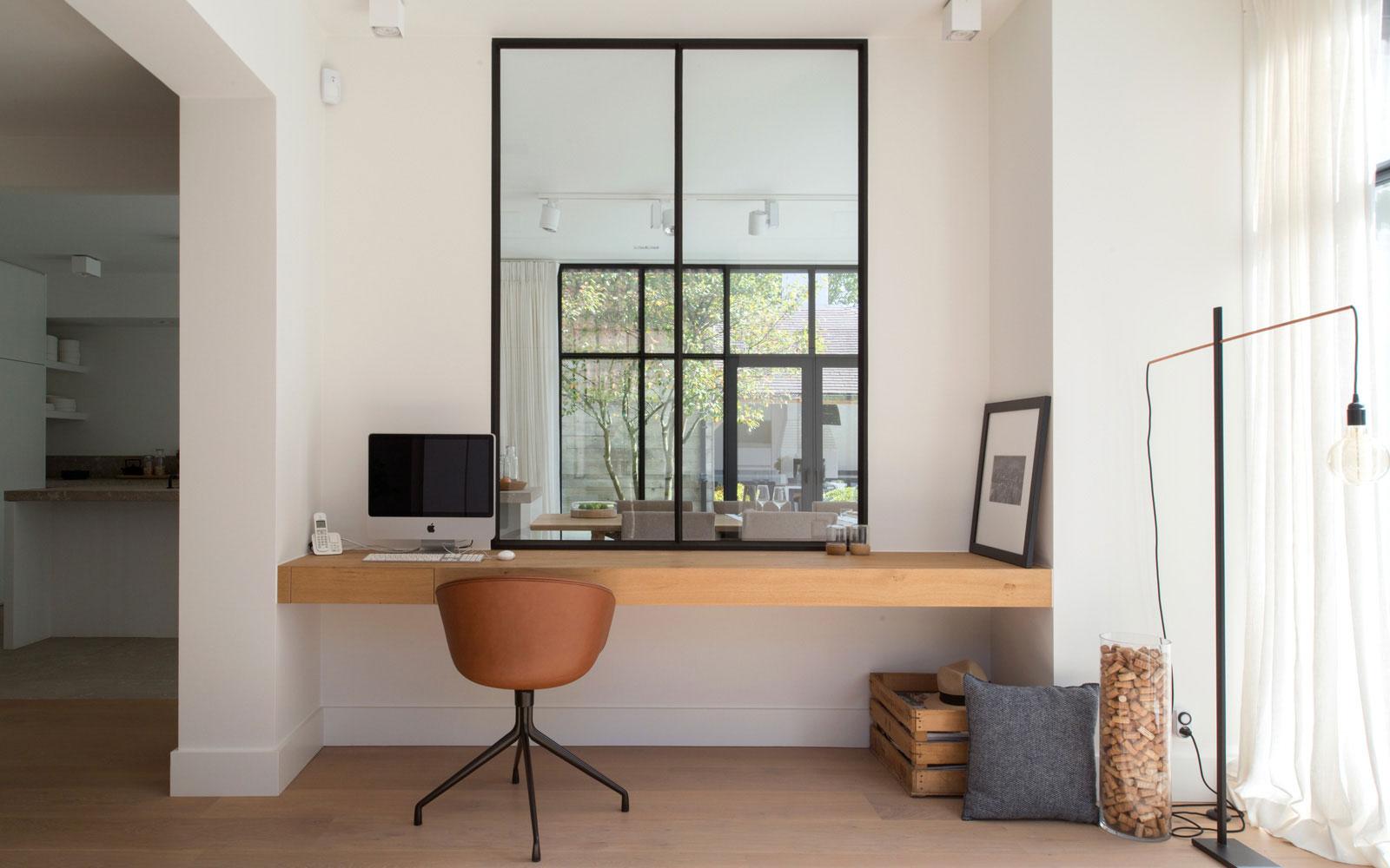Oscar V, home office, thuiskantoor, kantoor inspiratie, blog Sarah Watts