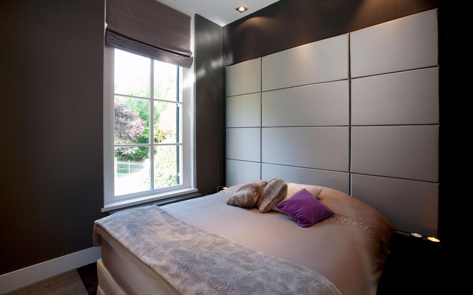 Slaapkamer, master bedroom, nieuwe indeling, kastenwand, maatwerk, klassiek herenhuis, Kees Marcelis
