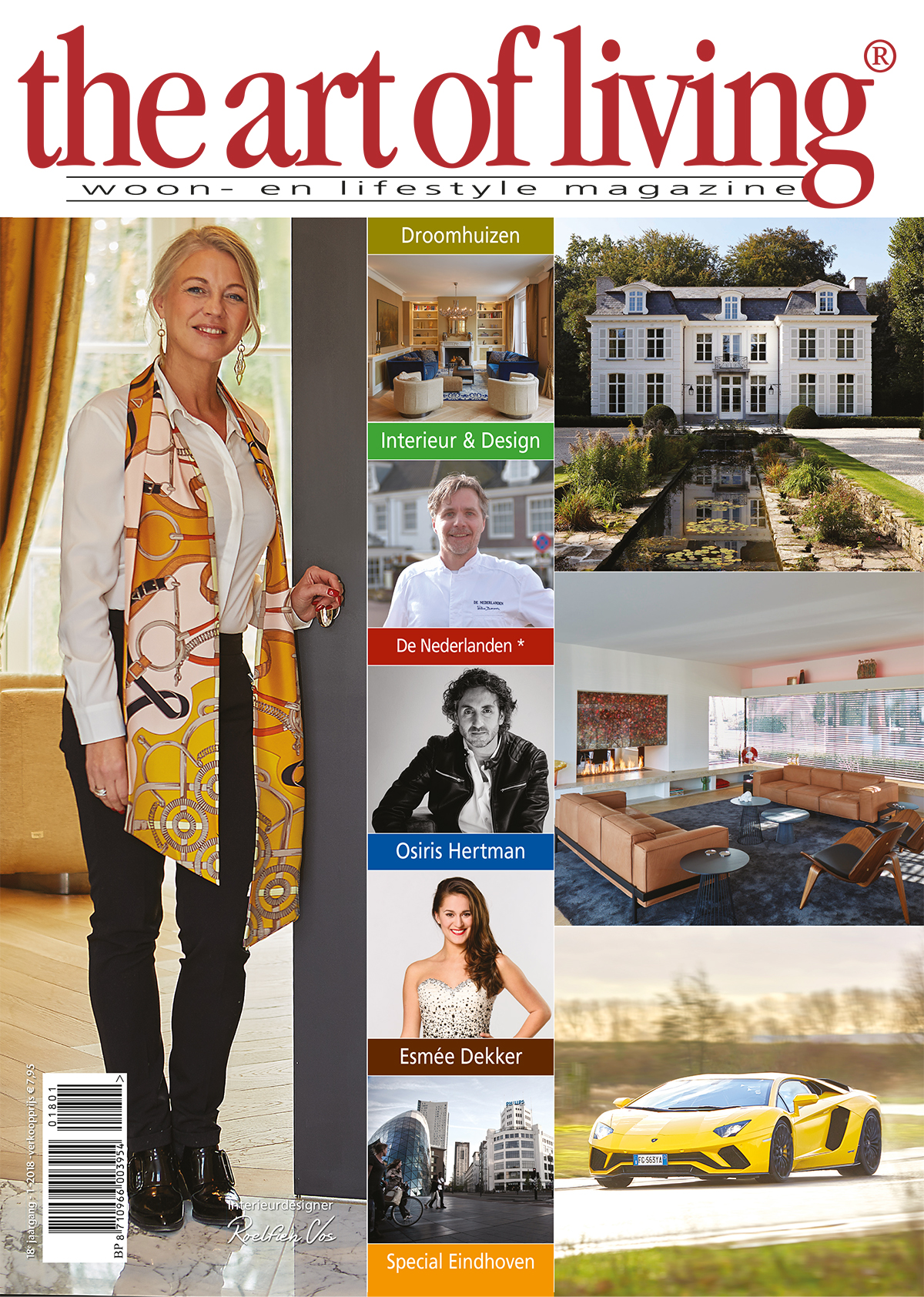 The Art of Living Magazine nummer 1 editie 2018