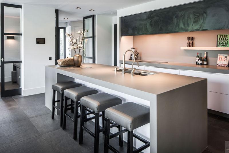 landelijke nieuwbouw, kabaz architecten, culimaat, high end kitchens, the art of living, exclusieve keukens