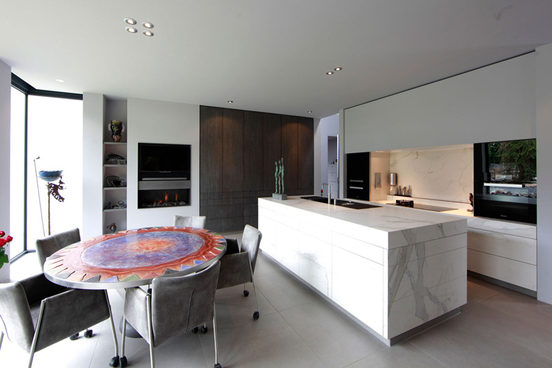 moderne villa, boley, culimaat, high end kitchens, exclusieve keukens, the art of living