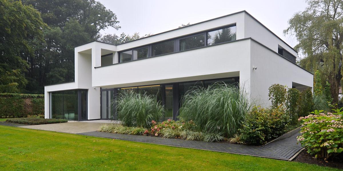 Modern landhuis maas architecten the art of living nl for Modern landhuis