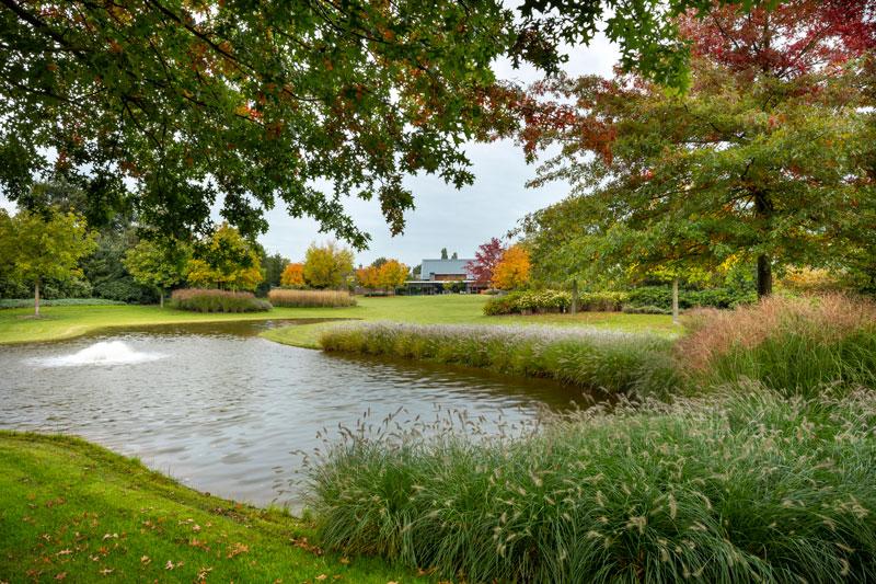 Tuin, droomtuin, diep, PUUR Groenprojecten, vijver, moderne villa, françois Hannes