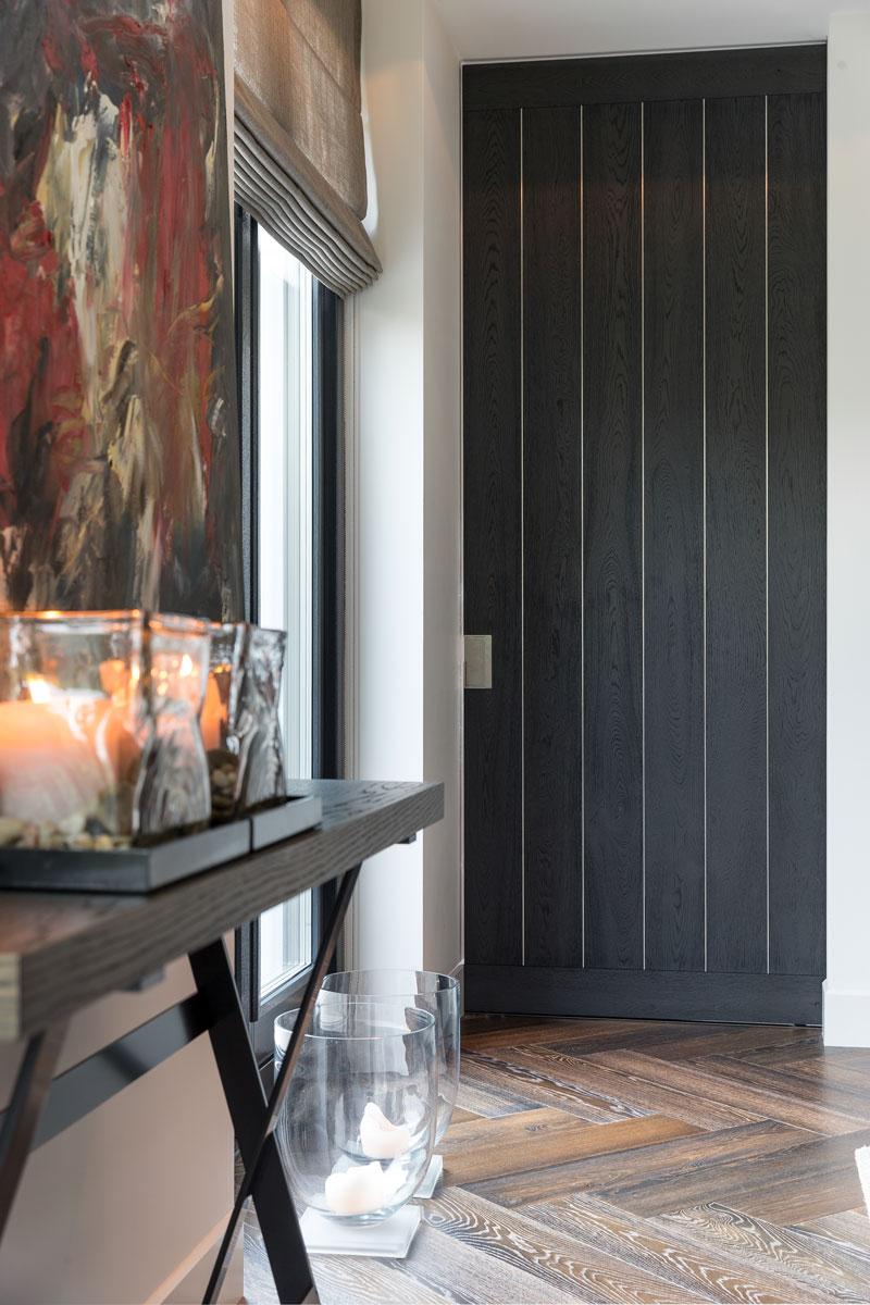 Deur, hal, houten deur, Bod'or, klassieke villa, François Hannes