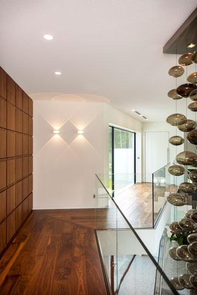 Houten wand, decoratief, Bone Interieurwerken, minimalistische villa, VLCS Architecten