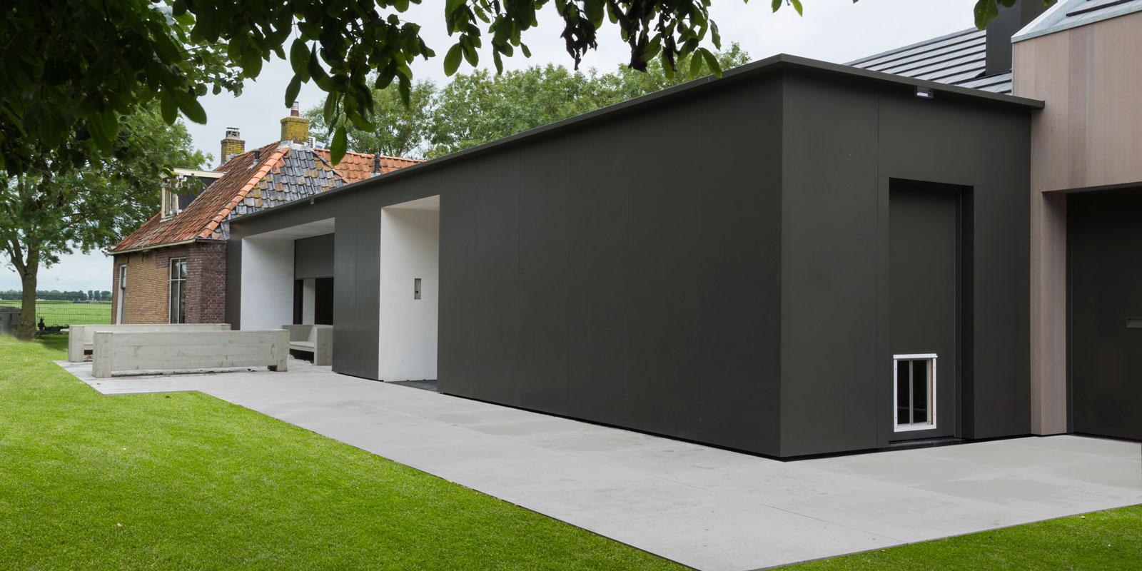 Moderne uitbouw | Lautenbag Architectuur