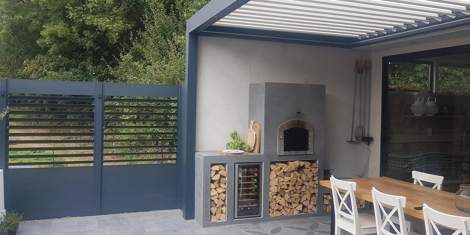 gardano outdoor living, lamellen daken, terrasoverkappingen, schuttingen, lamellen schuttingen, screens