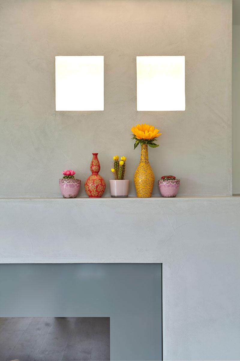 Living, detail, woonkamer, open haard, haardmeubel, onderscheidende villa, Marco van Veldhuizen
