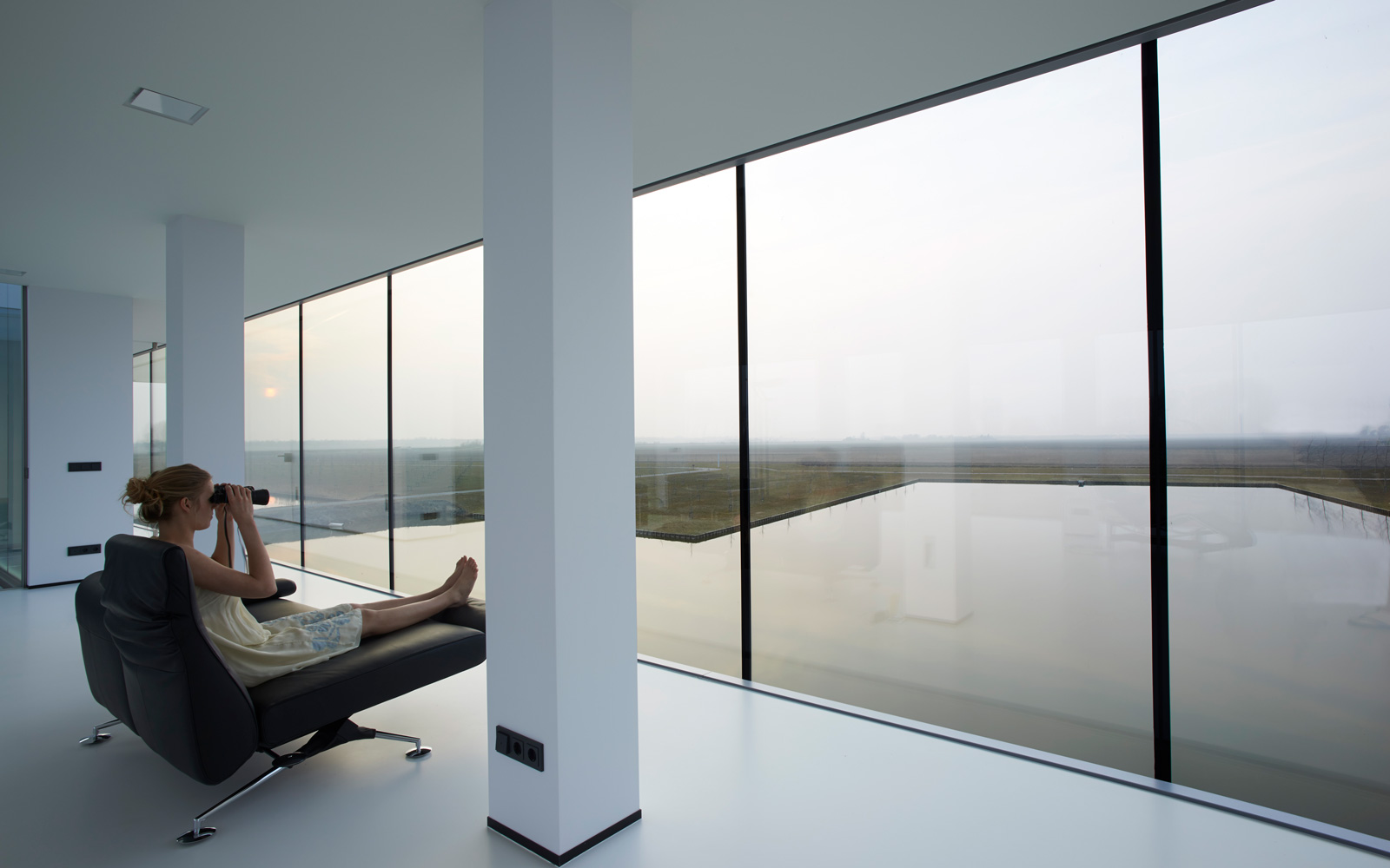 Villa Kogelhof | Architectenbureau De Ruiter, uitzicht, grote ramen, Si-X, glas