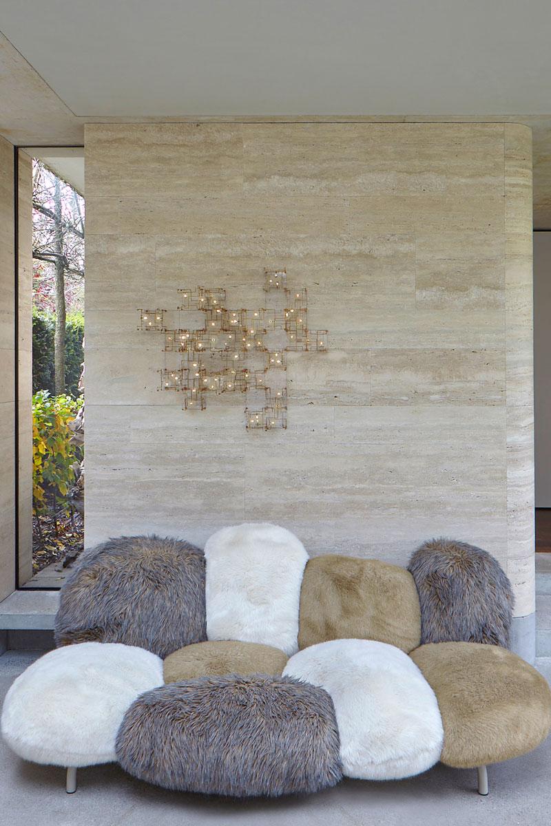 Wellnessruimte, wellness, loungechair, ontspannen, vooroorlogse villa, de Bever Architecten