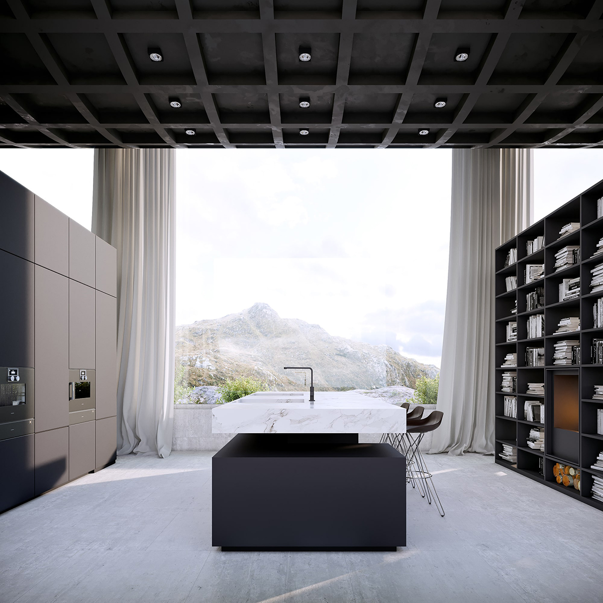 Architect Vladimir Konovalov - Infinity House